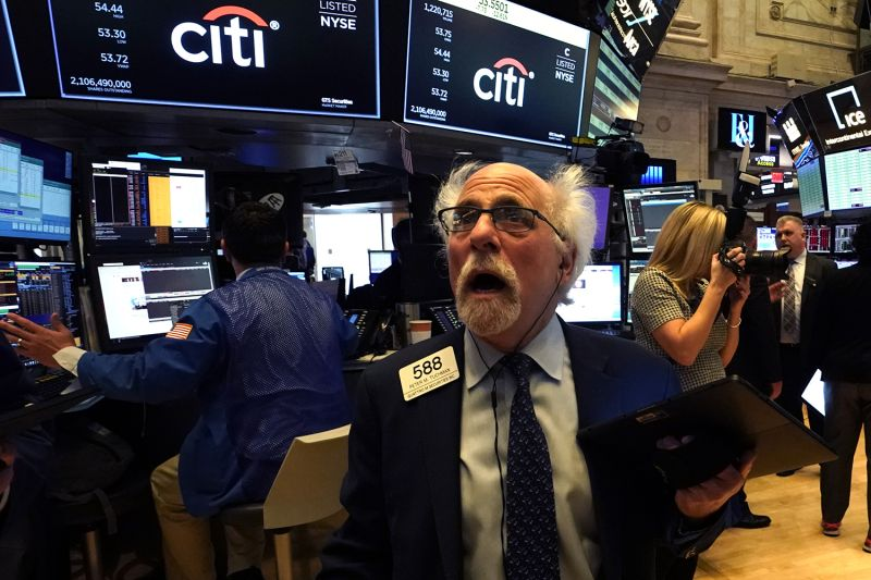 Traders like Peter Tuchman were hit with a global markets rout on Monday, fueled by crashing oil prices and mounting worries over the impact of the coronavirus, Mar. 9, 2020.