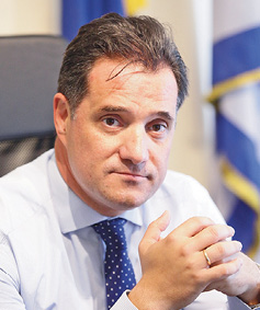Adonis Georgiadis, Minister of Development and Investments