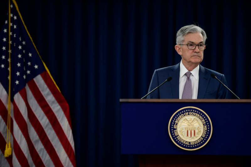 Federal Reserve Chair Jerome H. Powell gives a speech on March 3, 2020 in Washington, DC.