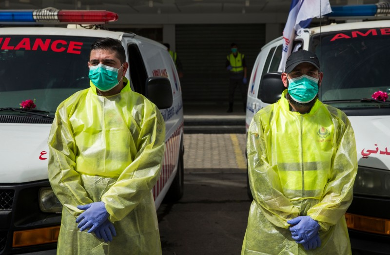 Hezbollah medical workers