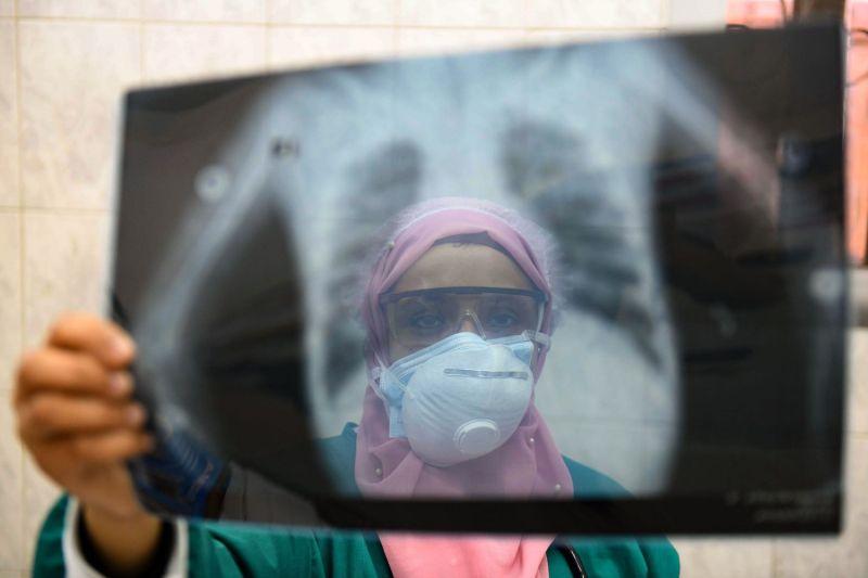 An Egyptian doctor