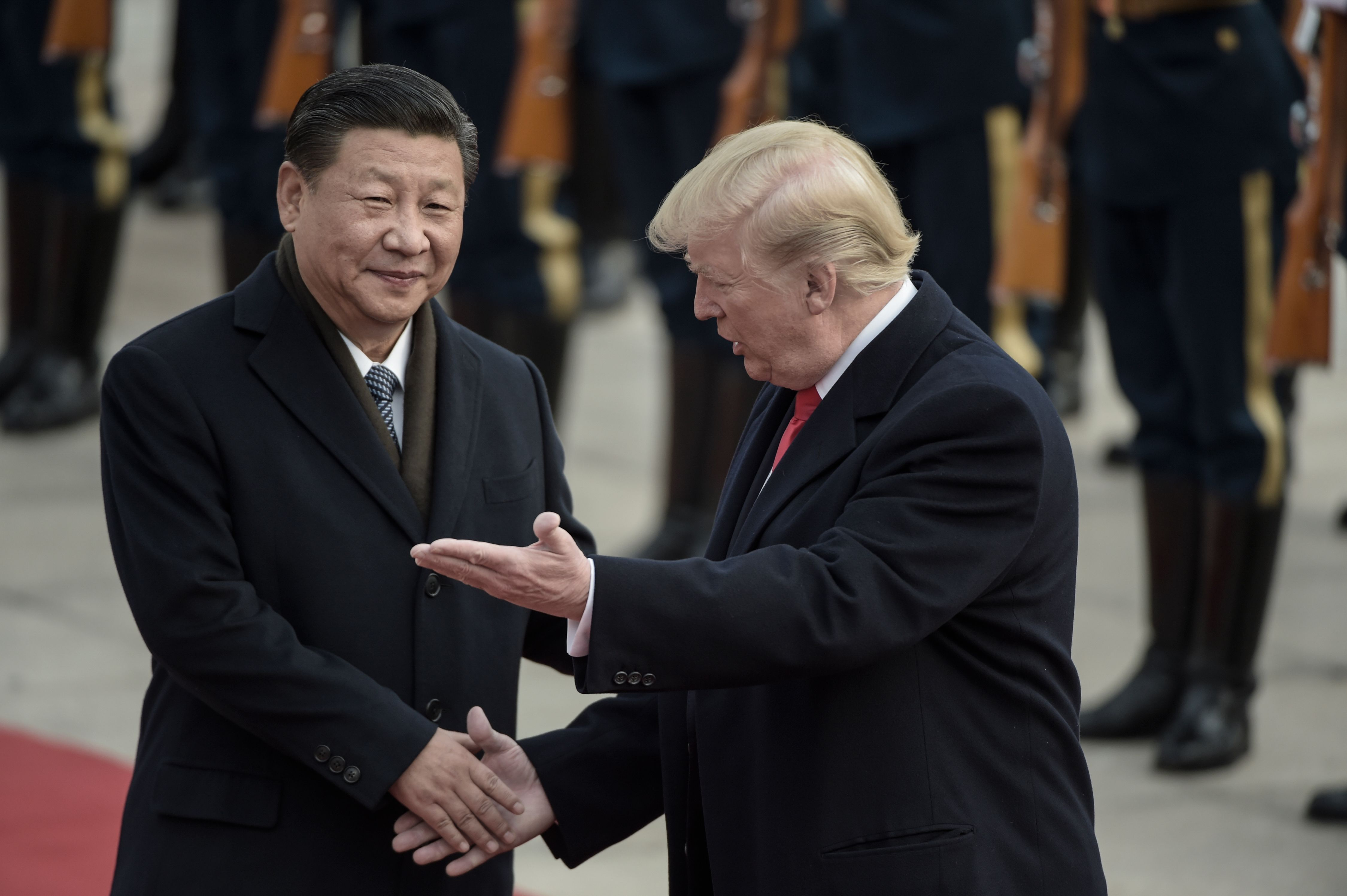 Trump Fixates on China as Nuclear Arms Pact Nears Expiration photo