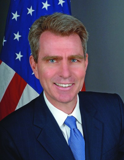 Geoffrey Pyatt, U.S. Ambassador to Greece