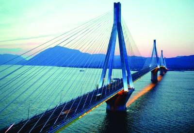 "Vinci Concessions ""Charilaos Trikoupis"" Bridge (Rio-Antirrio straits)"