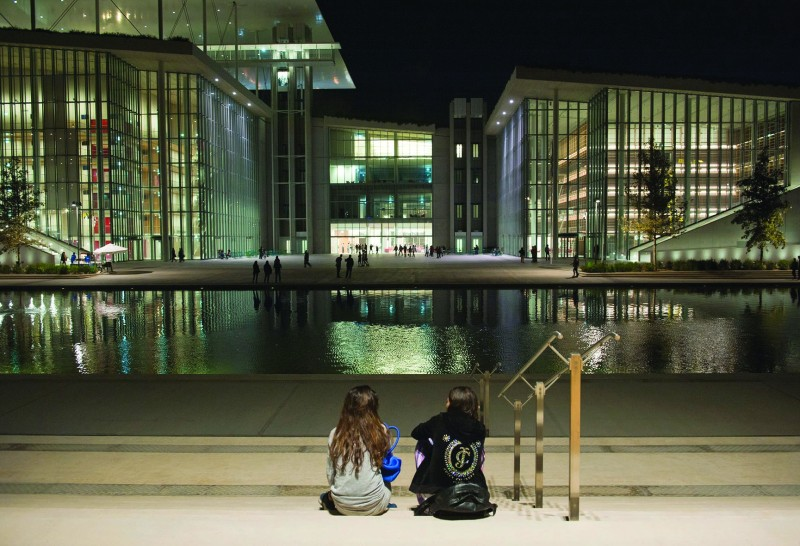 The philanthropic Stavros Niarchos Foundation in Athens is a landmark