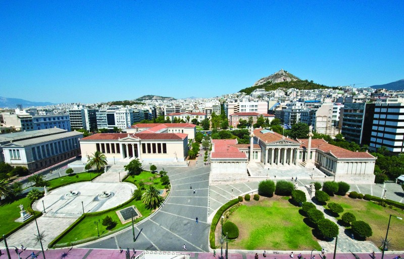 The Academy of Athens is Greece's leading research institute