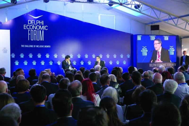 Robert D. Kaplan in discussion at Delphi Economic Forum 2019