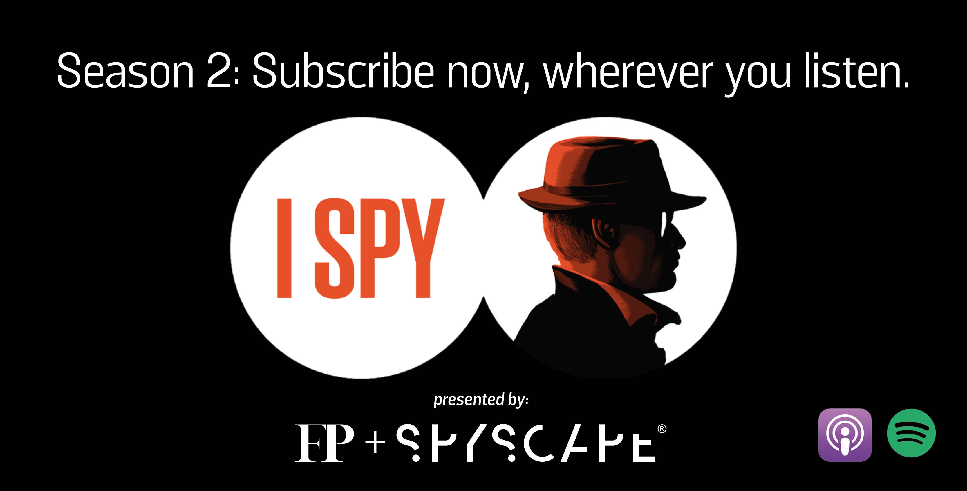 I Spy - An FP Podcast