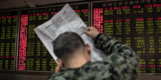 Chinese stocks plunged at open on March 23, 2018, on growing fears of a global trade war after U.S. President Donald Trump imposed billions of dollars of tariffs on Chinese imports and Beijing drew up a list of retaliatory measures.