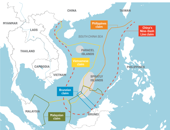 map of china sea Under Cover Of Coronavirus Pandemic China Steps Up Brinkmanship map of china sea