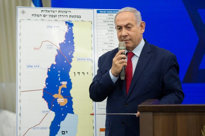 Israeli Prime Minster Benjamin Netanyahu