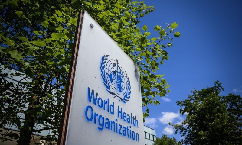 The World Health Organization headquarters in Geneva on April 24.