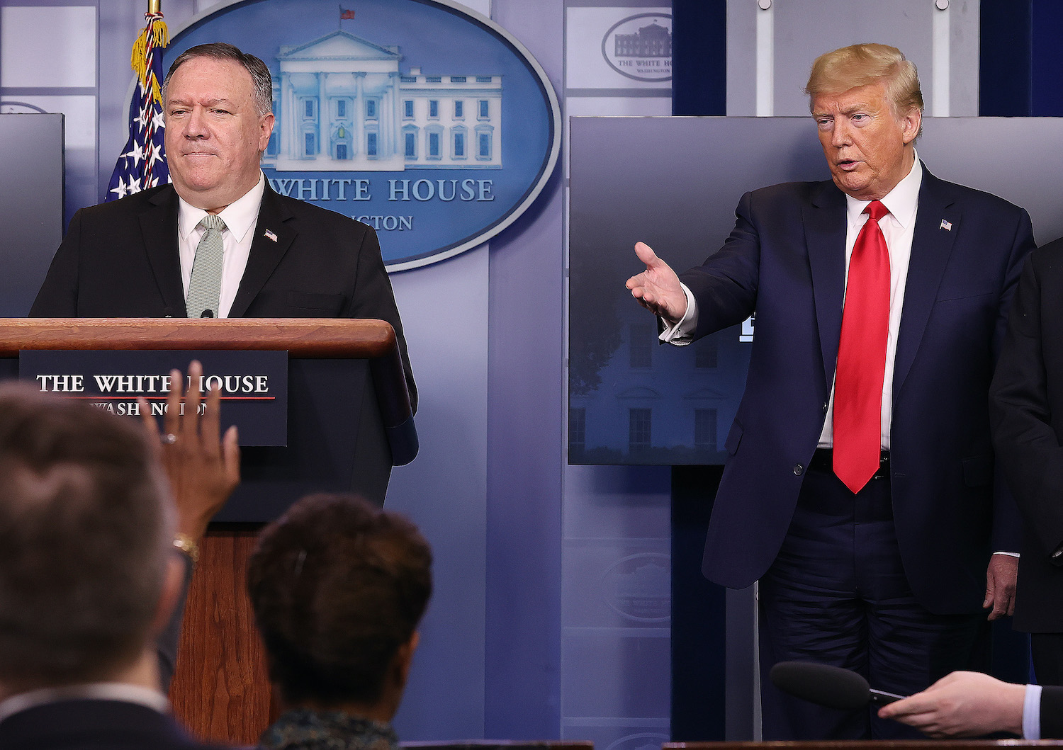Pompeo Emerges as Point Man in War of Words With China photo