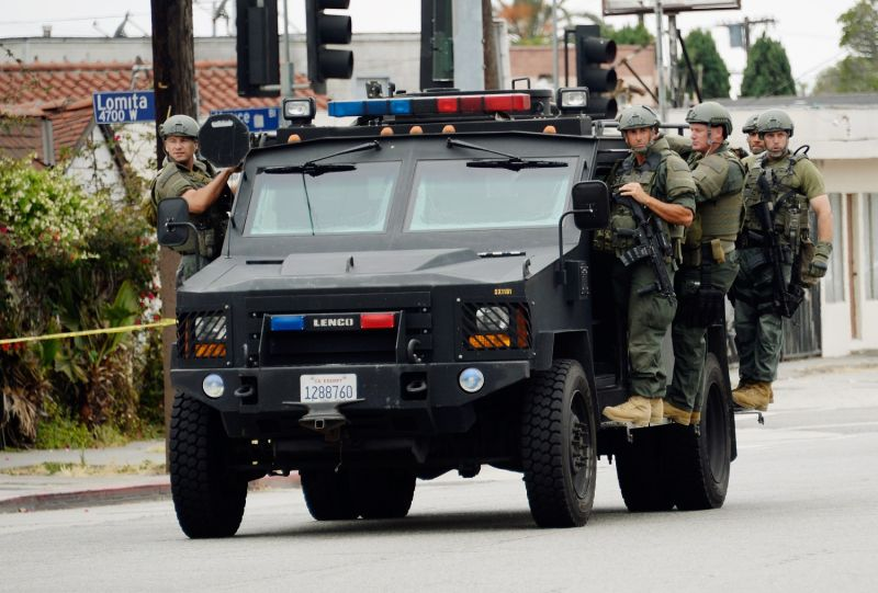 Los Angeles County Sheriff's SWAT team