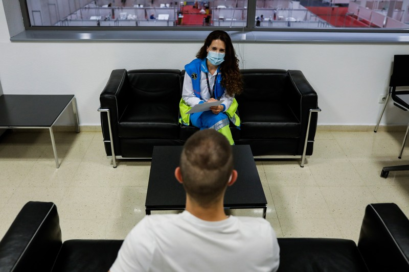 A health psychologist in Spain during the coronavirus pandemic