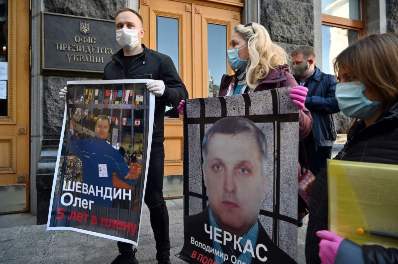 Ukraine Prisoner Swap Protests