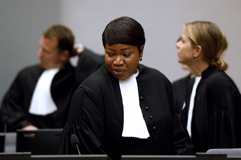 International Criminal Court chief prosecutor Fatou Bensouda