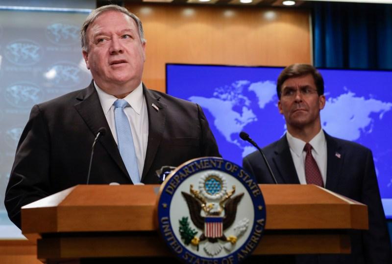 Senior Trump administration officials brief the press on the International Criminal Court.