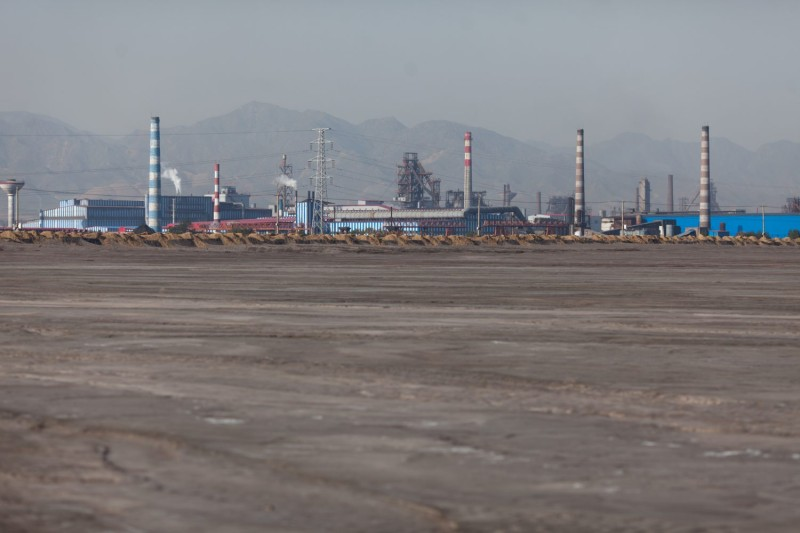 Rare-earth refineries in China