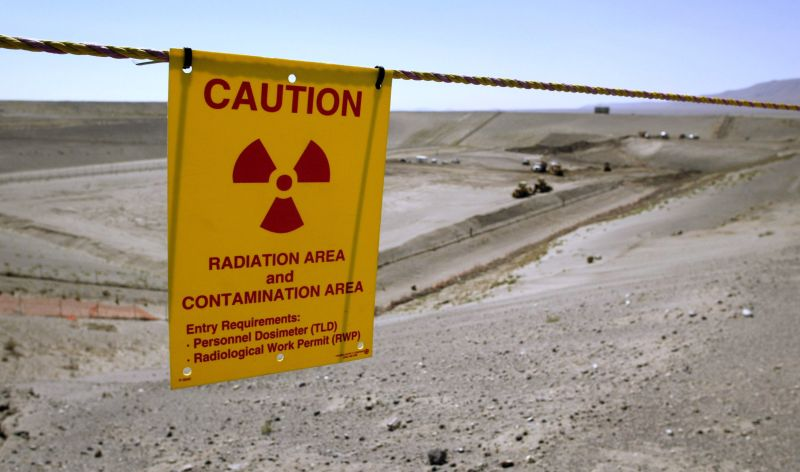 The Environmental Restoration Disposal Facility is seen at the Hanford Nuclear Reservation June 30, 2005 near Richland, Washington.