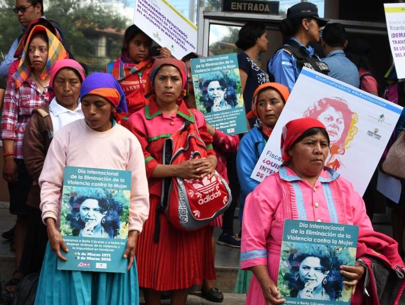 Berta Caceres Protest 2018
