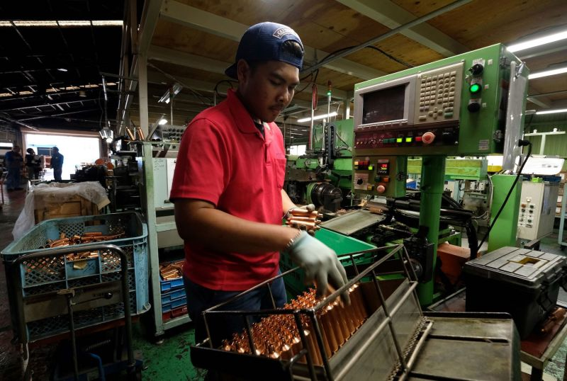 Indonesian Factory Worker in Japan