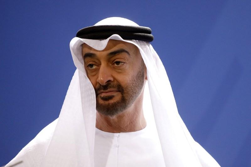 Abu Dhabi Crown Prince Sheikh Mohammed bin Zayed Al Nahyan in Berlin on June 12, 2019.