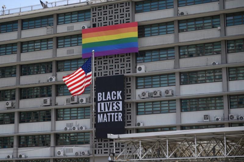 Seoul Embassy Black Lives Matter