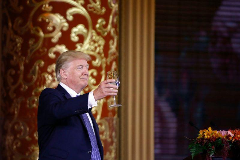 U.S. President Donald Trump in Beijing