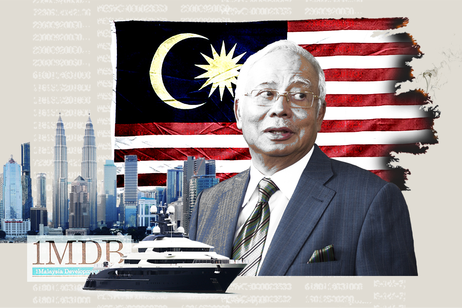 Najib's Dirty Money photo