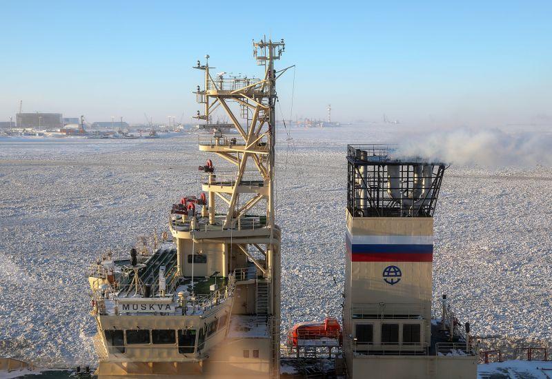 The Moskva icebreaker