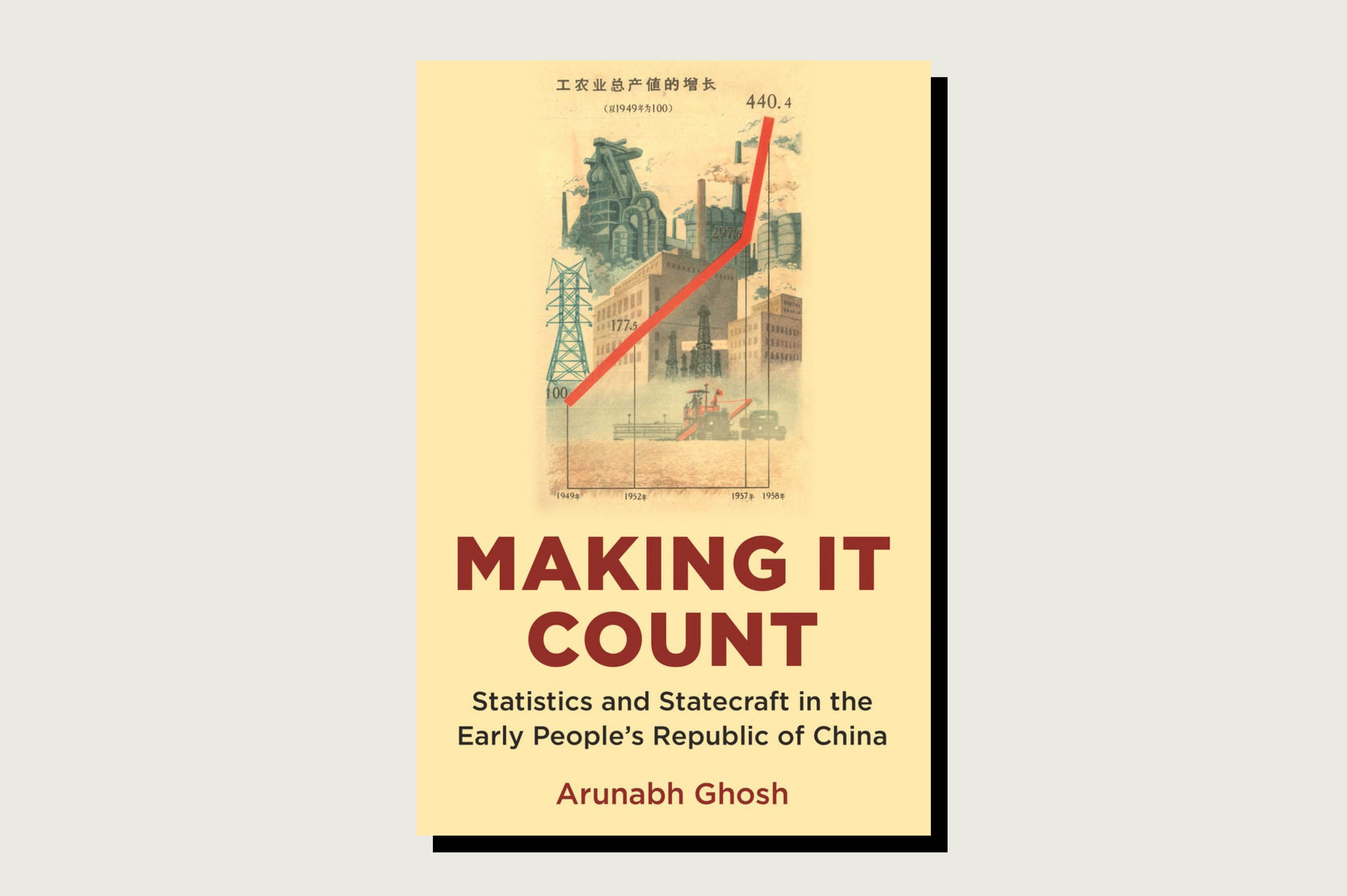 Making It Count: Statistics and Statecraft in the Early People's Republic of China, Arunabh Ghosh, Princeton University Press, pp. 360, , Month 2020