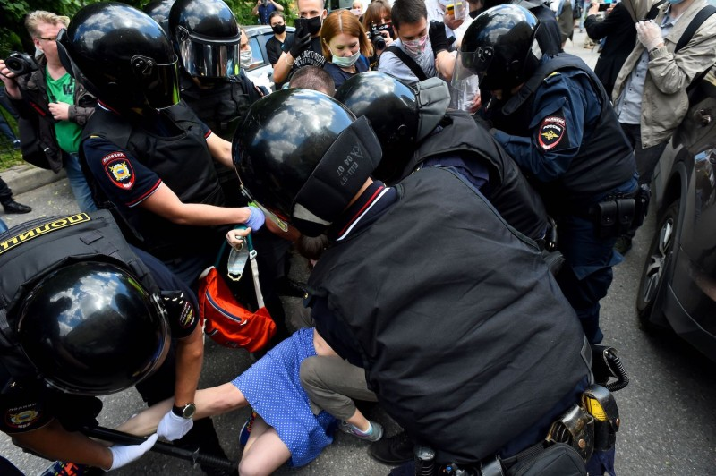 Russian Police Violence