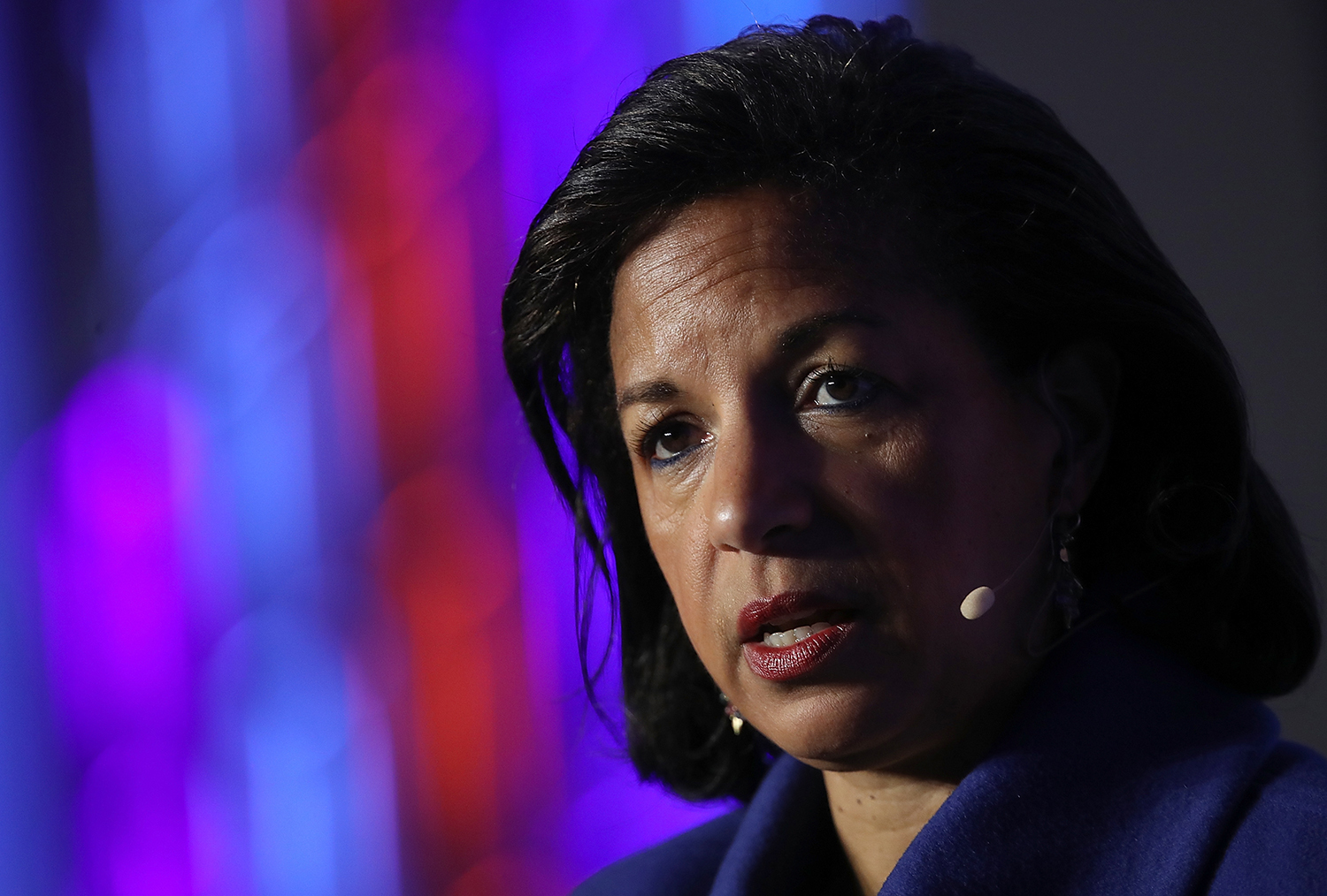 Former National Security Advisor Susan Rice at the J Street 2018 National Conference in Washington on April 16, 2018.