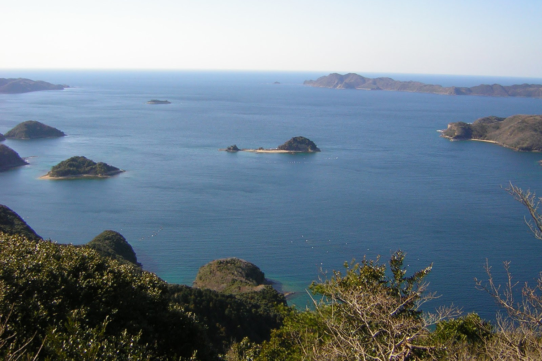 Aso Bay on Tsushima.
