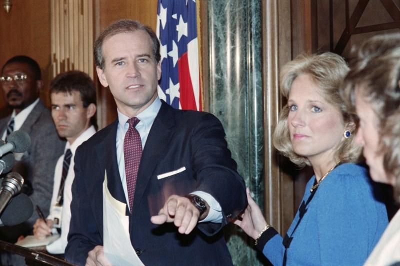 U.S. Sen. Joseph Biden in 1987