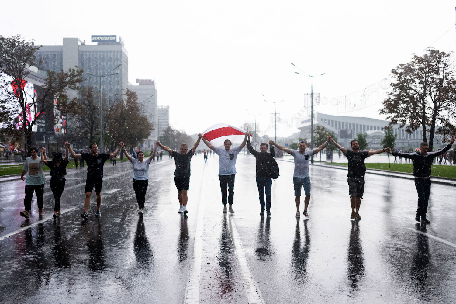 Belarus protests continue for sixth straight weekend