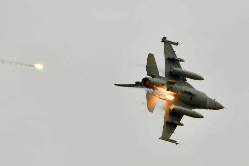 A U.S.-made F-16V