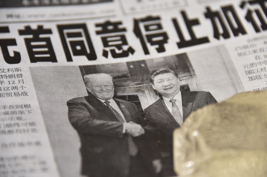 U.S. President Donald Trump and Chinese President Xi Jinping.