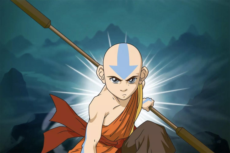 Aang, the hero of Avatar: The Last Airbender.