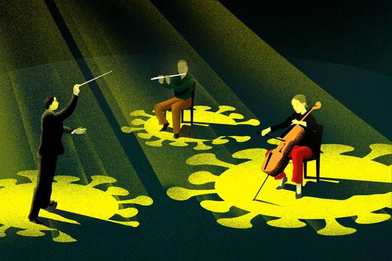 culture-orchestra-coronavirus-brian-stauffer-illustration