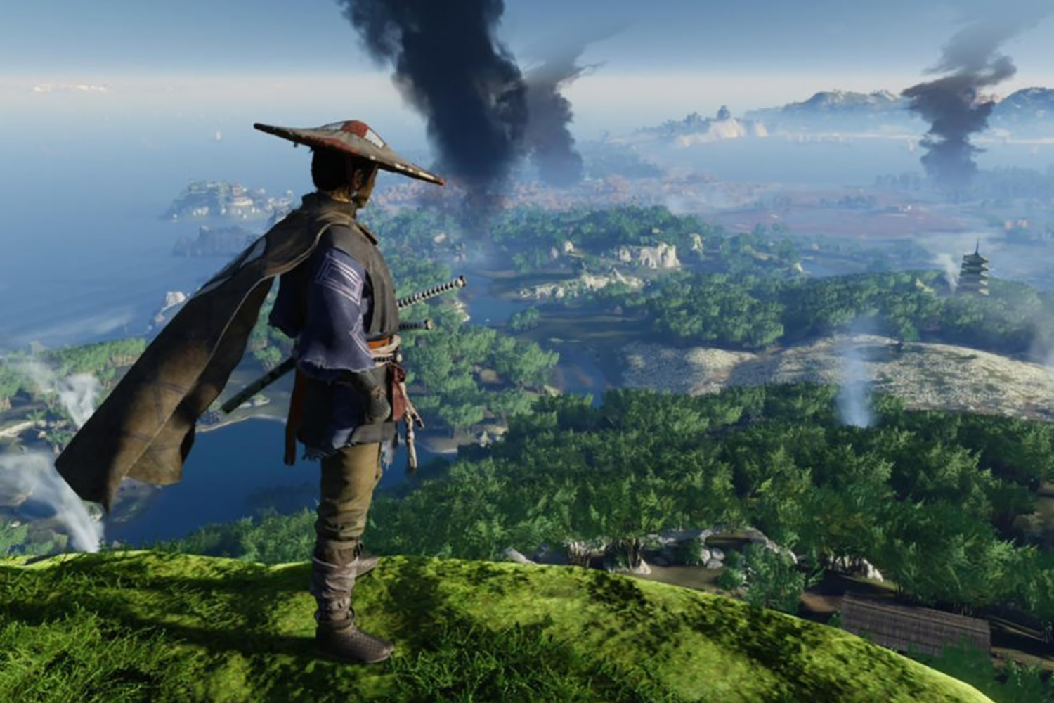 Ghost of Tsushima Reshapes A Real Place Into a Beautiful Fantasy