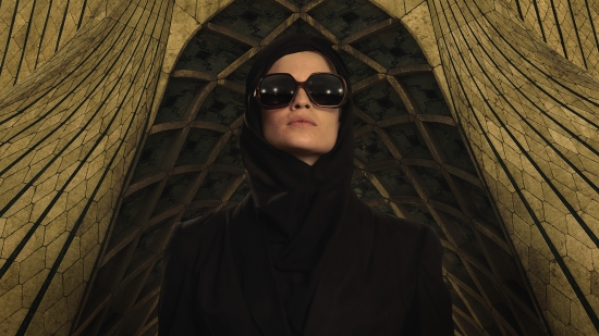 "Promotional photo for the TV series ""Tehran"" showing the Israeli actress Niv Sultan playing a Mossad agent."