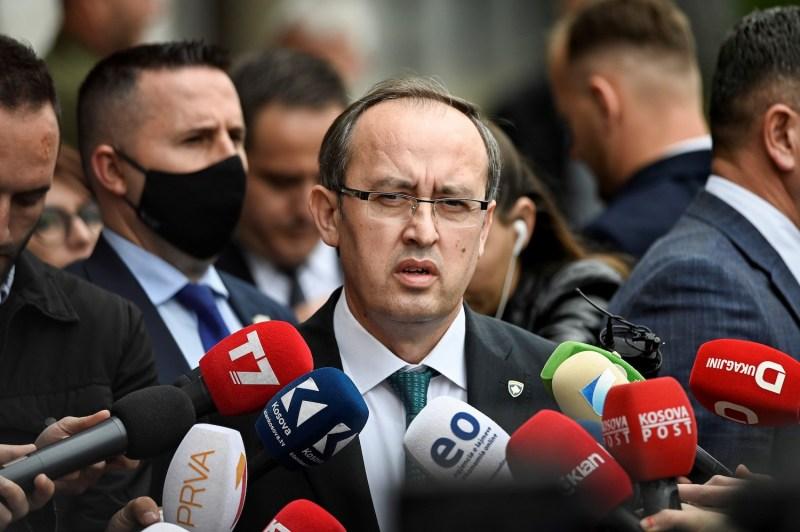 Prime Minister of Kosovo Avdullah Hoti