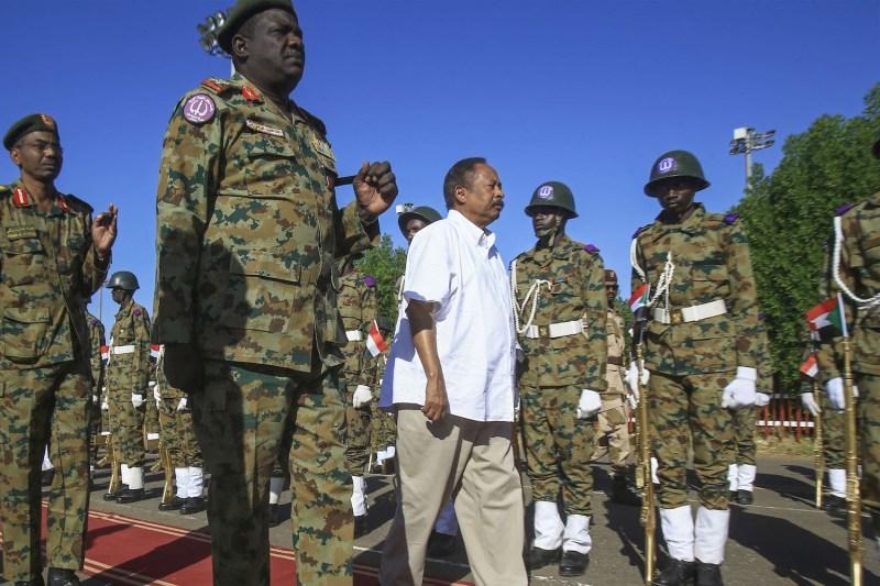 Sudanese Prime Minister Abdalla Hamdok visits Sudan's North Darfur state.
