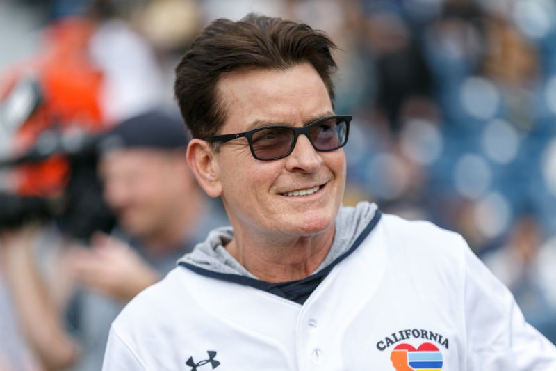"Actor Charlie Sheen attends a charity softball game to benefit ""California Strong"" at Pepperdine University on January 13, 2019 in Malibu, California. (Rich Polk/Getty Images for California Strong)"