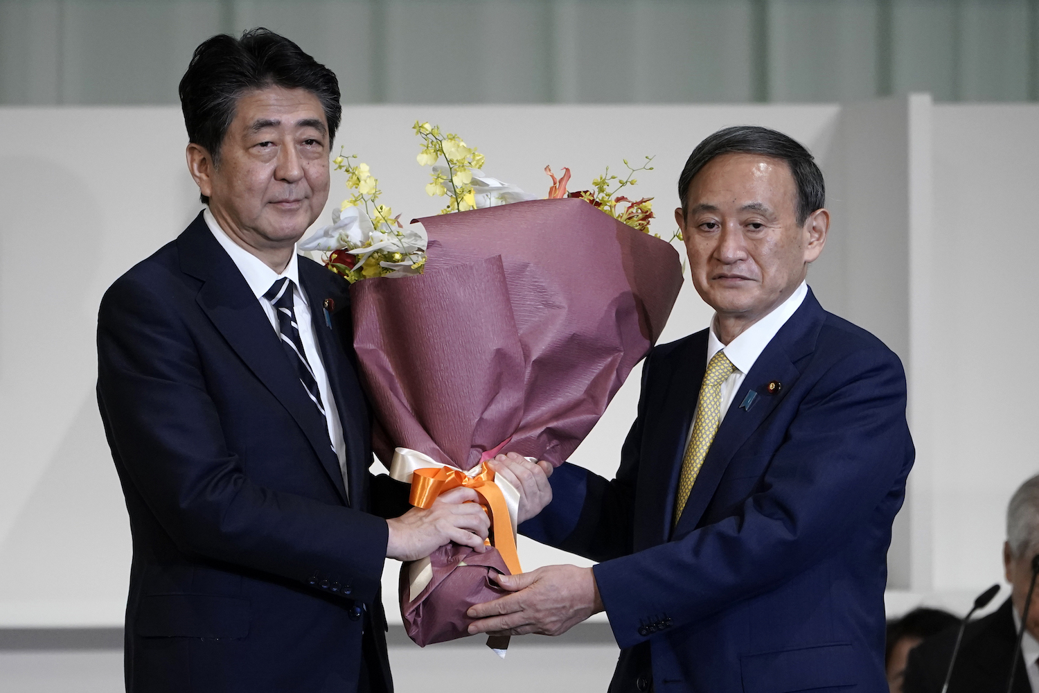 Yoshihide Suga Takes Over as Japan's New Prime Minister