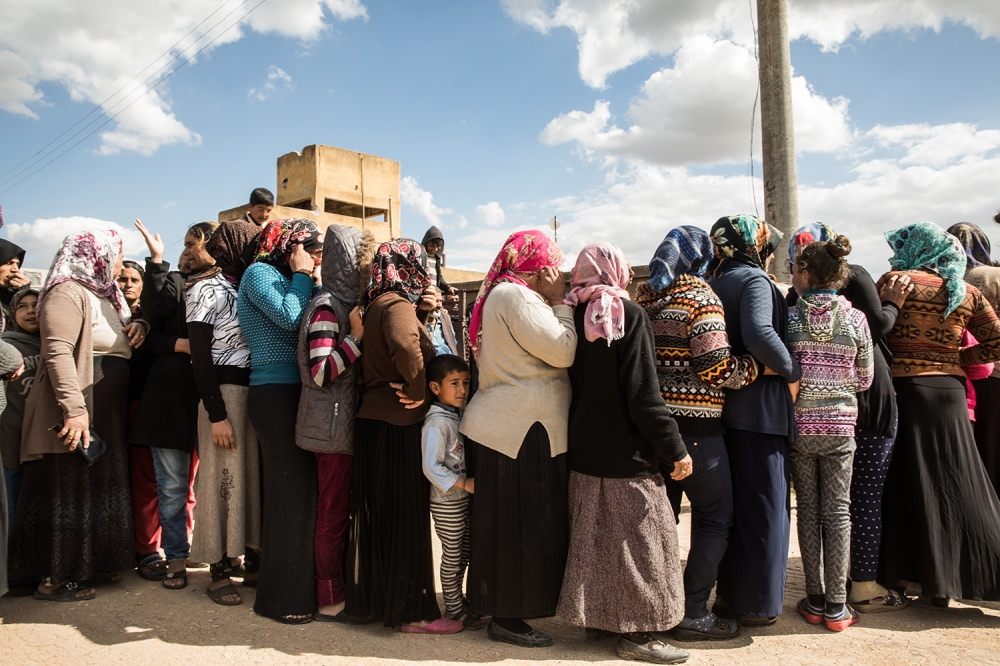 Syria's Forgotten Displaced Aren't Equipped to Fight the Pandemic