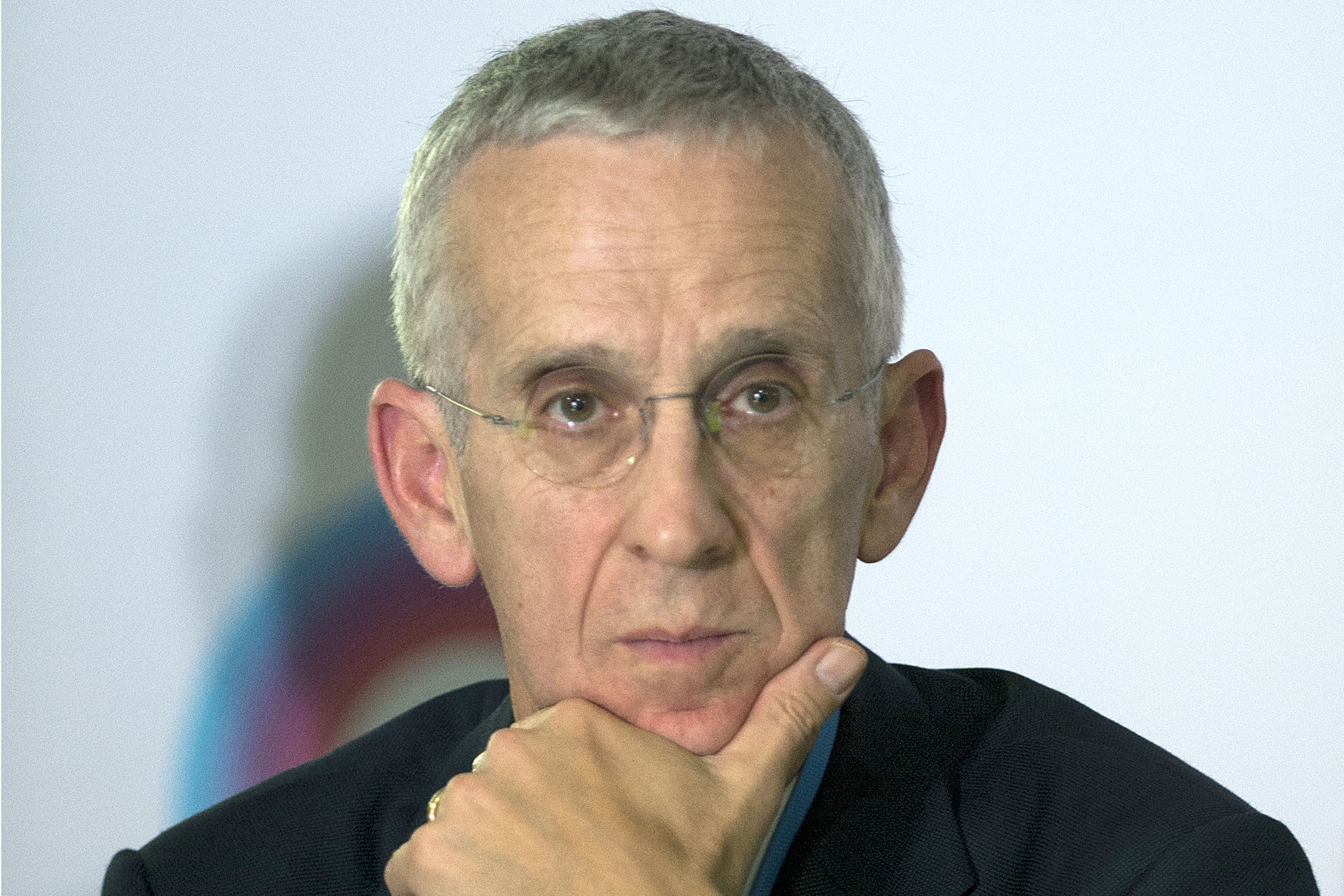 Todd Stern, the former U.S. special envoy for climate change, is seen at a press conference during major intergovernmental climate meetings in Lima, Peru, on Dec. 8, 2014.