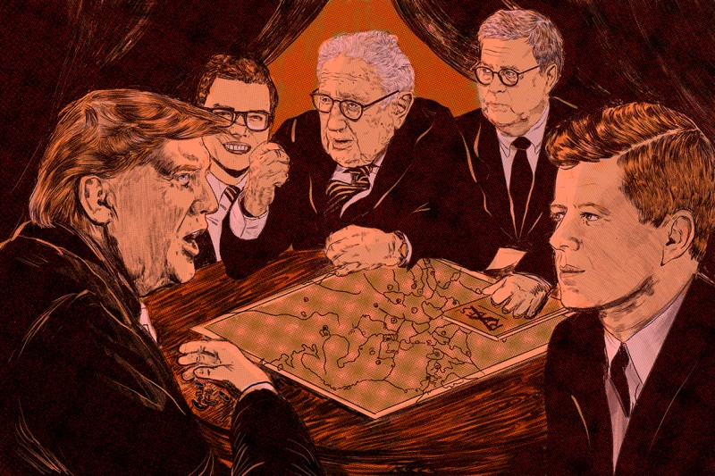 Diplomacy-board-game-foreign-policy-Trump-Kissinger-JFK-Barr-Nikole-Rifkin-illustration
